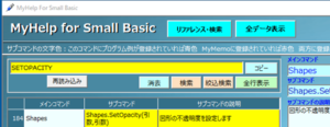 第7回:Small Basicを使ってみよう