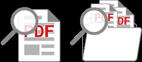 PDF検索機能